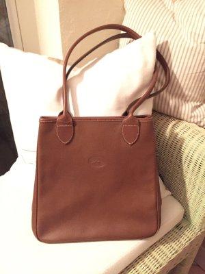 Longchamp Handtasche Cognac/braun