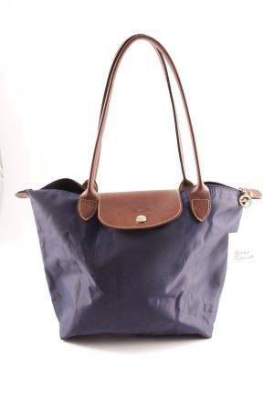 Longchamp Handtasche dunkelblau-braun Elegant