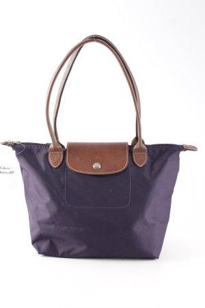 Longchamp Handtasche dunkelviolett Casual-Look