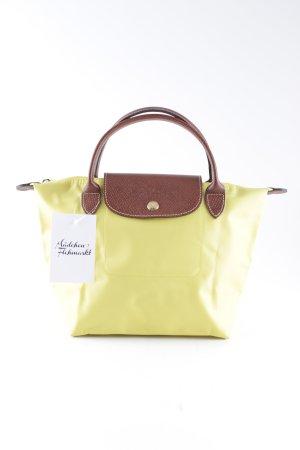 Longchamp Handtasche gelb Casual-Look