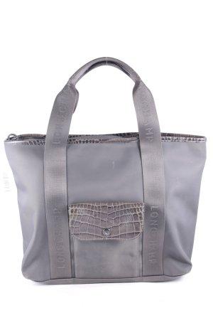 Longchamp Handtasche grüngrau Casual-Look