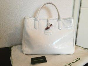 Longchamp Handtasche Kalbleder in Krokooptik