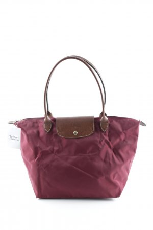 Longchamp Handbag carmine casual look