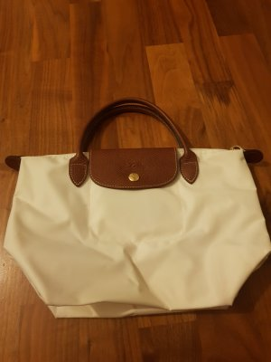 Longchamp Stoffen tas wit