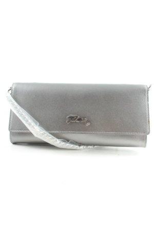 Longchamp Handtasche silberfarben Elegant
