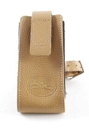 Longchamp Carcasa para teléfono móvil marrón arena estilo sencillo