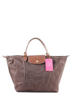 Longchamp Henkeltasche bronzefarben Business-Look