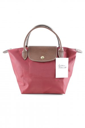 Longchamp Carry Bag brown-red casual look