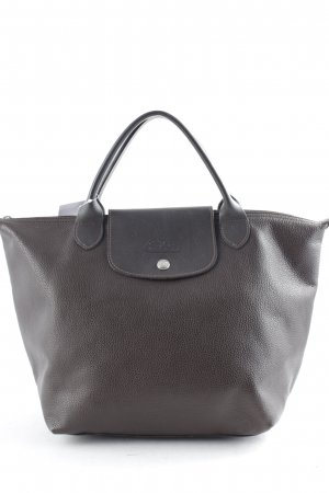Longchamp Carry Bag brown simple style