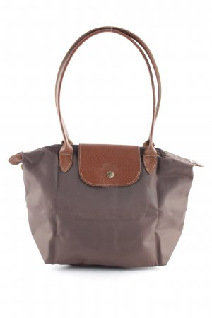 Longchamp Carry Bag cognac-coloured-brown simple style