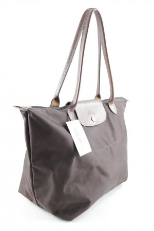 Longchamp Carry Bag dark brown-brown business style
