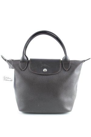 Longchamp Henkeltasche dunkelbraun Casual-Look
