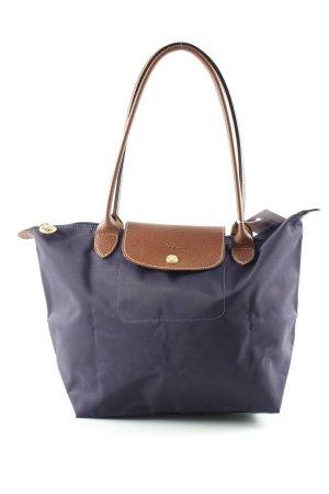 Longchamp Carry Bag dark violet casual look