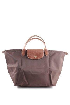 Longchamp Henkeltasche braun Casual-Look