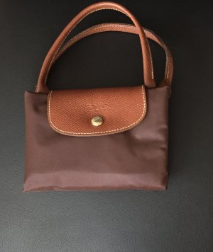 Longchamp Carry Bag dark brown nylon