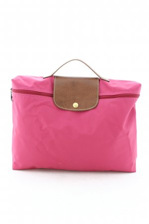 Longchamp Carry Bag pink minimalist style
