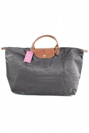 Longchamp Carry Bag black-brown shimmery