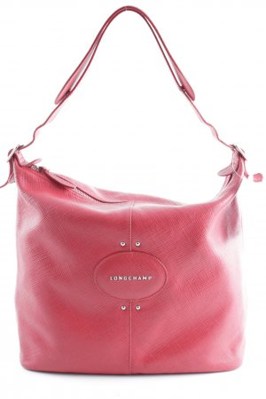 Longchamp Carry Bag brick red casual look