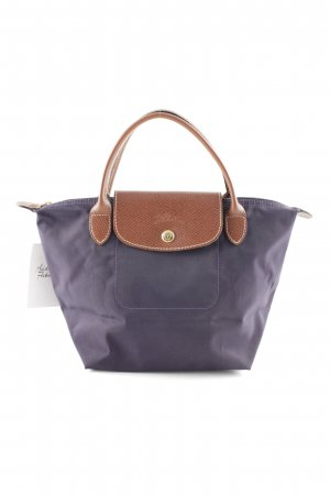 Longchamp Hobo dunkelviolett Casual-Look