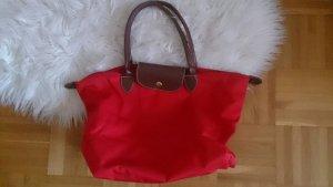 Longchamp inspirierte Tasche in rot