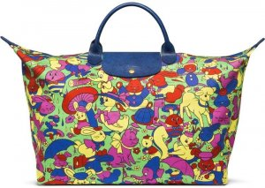 Longchamp Jeremy Scott Sonderedition Reisetasche Neu