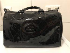 Longchamp Kalbsleder Tasche schwarz