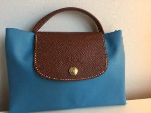 Longchamp Sacoche d'ordinateur bleuet