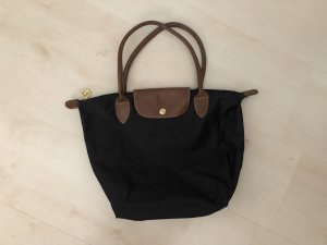 Longchamp Carry Bag black-bronze-colored