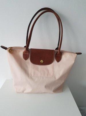 Longchamp Bolso barrel rosa-rosa claro Cuero