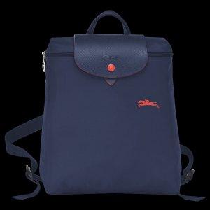 """Longchamp le pliage Club collection"""" SAC A DOS"""" Rucksack Navy"""