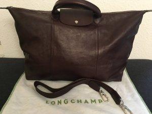 Longchamp Le Pliage Cuir Reisetasche