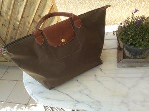 Longchamp Le Pliage Handtasche in Gr. M in Khaki