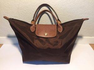 Longchamp Borsetta marrone scuro-marrone