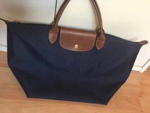 Longchamp Sac à main bleu foncé