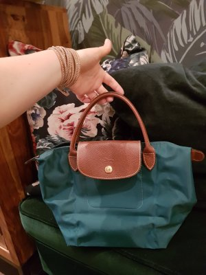 Longchamp le Pliage Handtasche Original grün