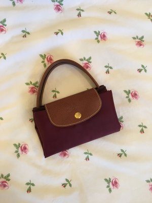 Longchamp Le Pliage Handtasche S in Bordeaux