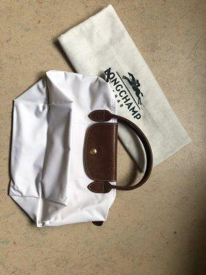 Longchamp Le Pliage Handtasche weiss, S