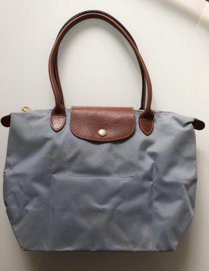 Longchamp Shopper slate-gray-azure