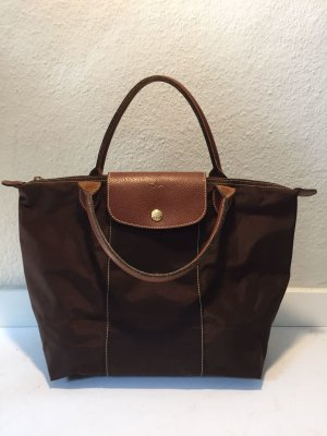 Longchamp Le Pliage in braun