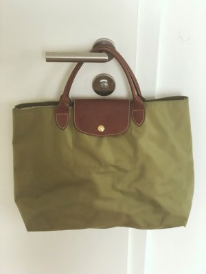 "Longchamp ""Le Pliage"" in Olive/Khaki"