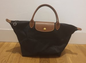 Longchamp Le Pliage in schwarz top Zustand