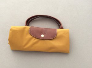 Longchamp Borsa da weekend sabbia-marrone Nylon