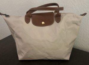 Longchamp Le Pliage M beige puder Tasche