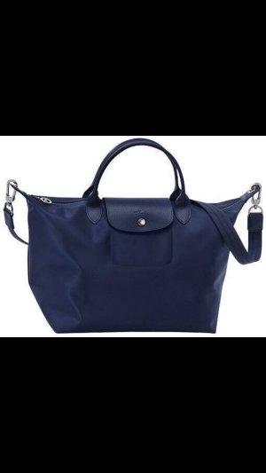 Longchamp Le Pliage Néo Navy Blue M