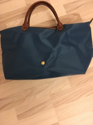 Longchamp Carry Bag petrol nylon