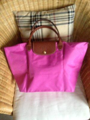 Longchamp Le Pliage Nylon Gr. M Pink-rosè