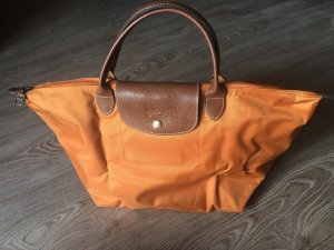 "Longchamp ""Le Pliage"" Nylon, Größe M, Orange"