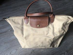 "Longchamp ""Le Pliage"" Nylon, Größe M, Sand"