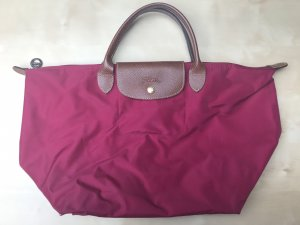 Longchamp Le Pliage Nylon M Beerenrot Limited Edition