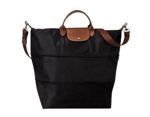 Longchamp Borsa da viaggio nero Nylon